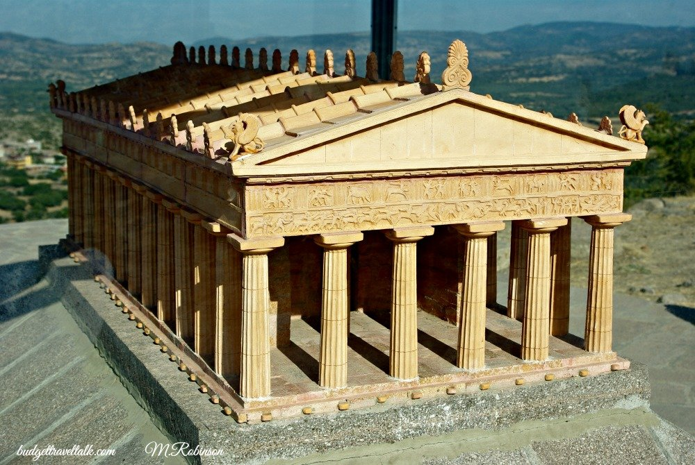 Assos Temple of Athena Model