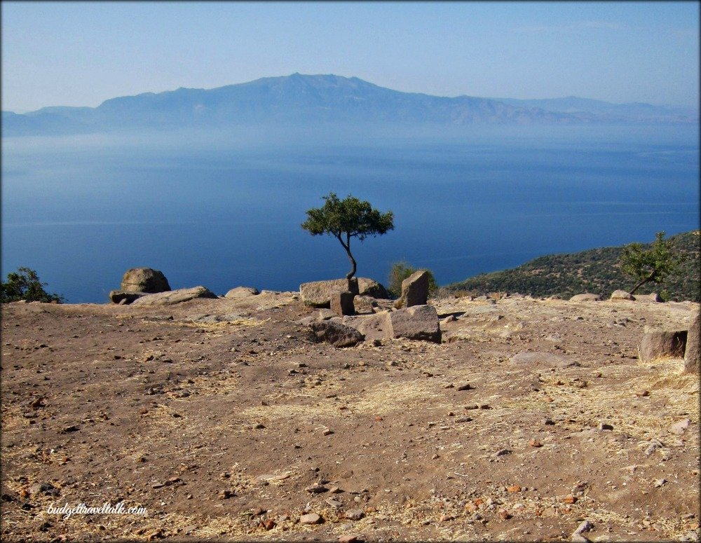 Assos View from Temple of Athena