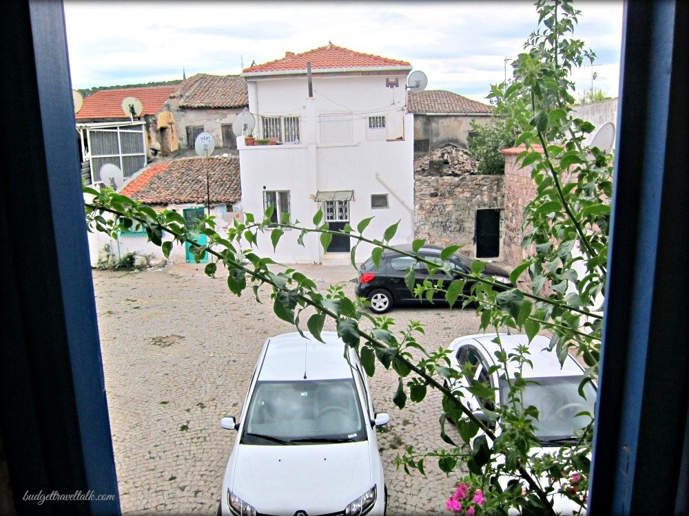 Parking in the Square at Ayvalik Turkey