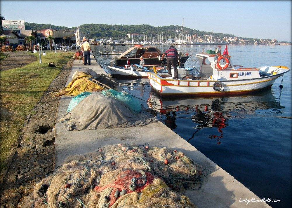 Ayvalik Fishing Boats