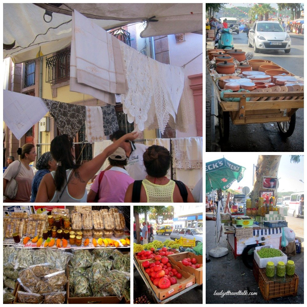 Ayvalik Market, north Agean Coast of Turkey