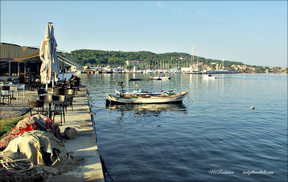 Ayvalik waterfront Turkey