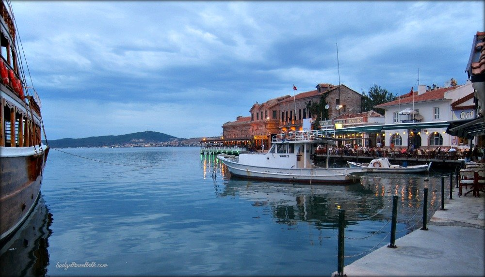 Ayvalik waterfront dining
