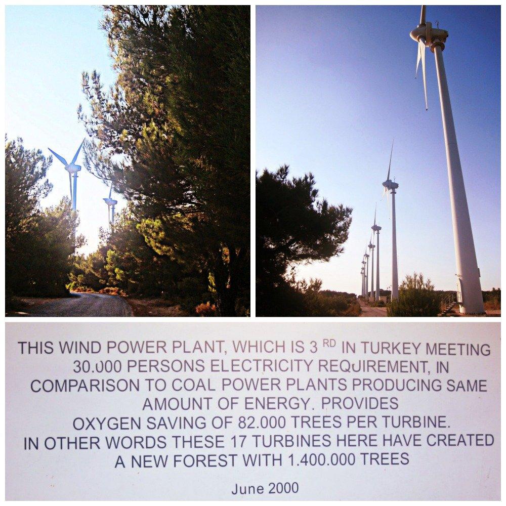 Bozcaada Windfarm Collage