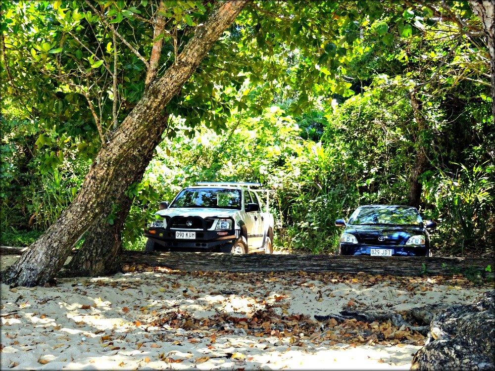 Garners Beach Parking