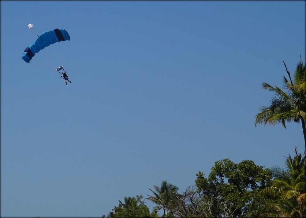 Skydiving at Wongaling Beach