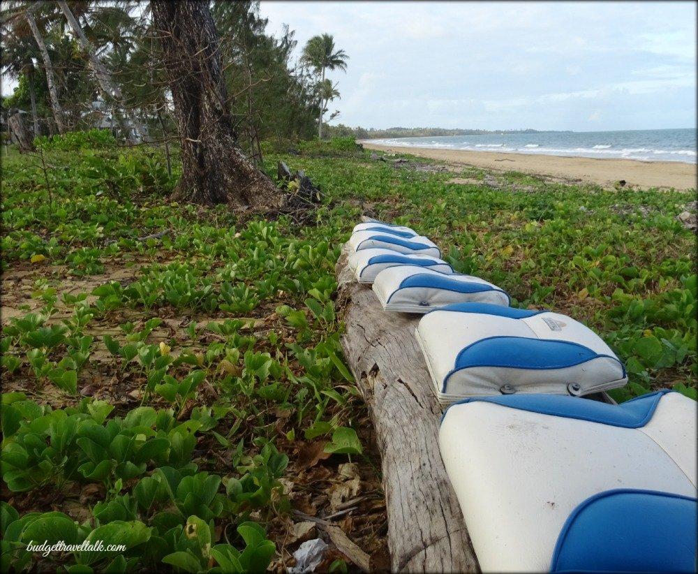 Wongaling Beach Boat Seat