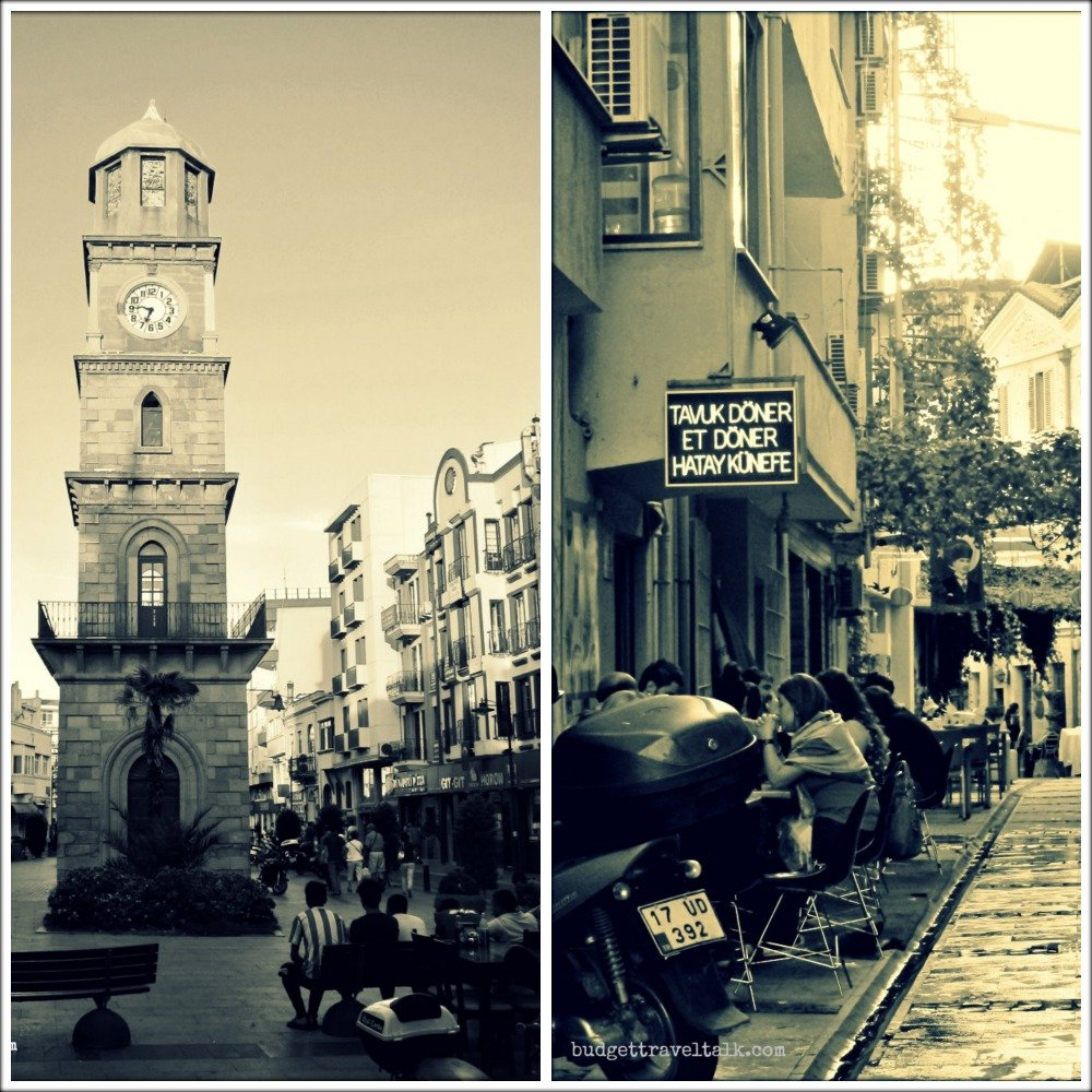 Clock Tower Collage Canakkale