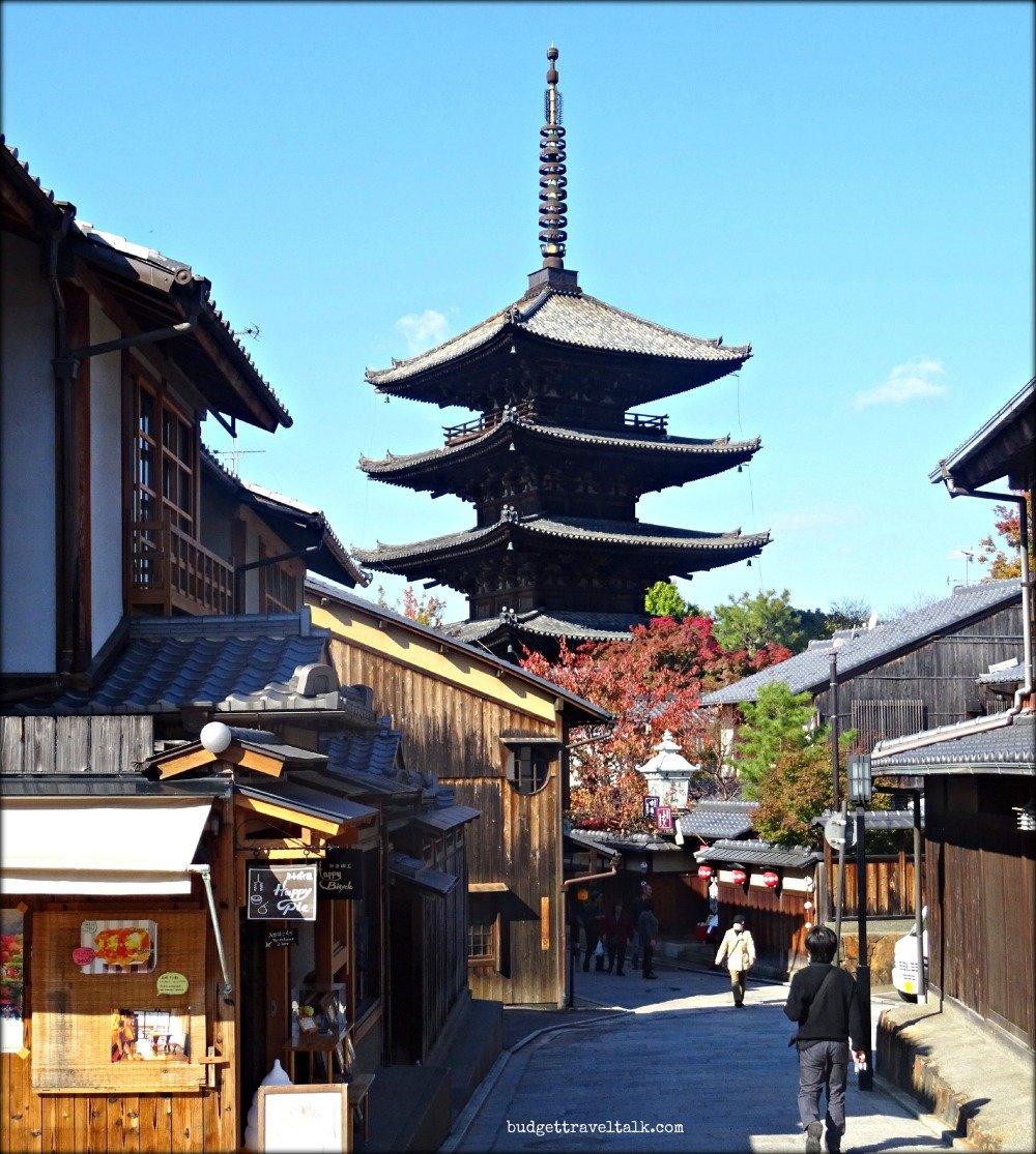 Kyoto Yasaka-no-to Pagoda