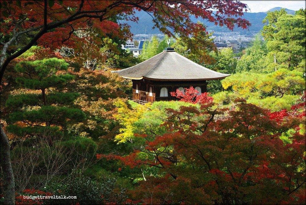 Kyoto Silver Pagoda City Garden