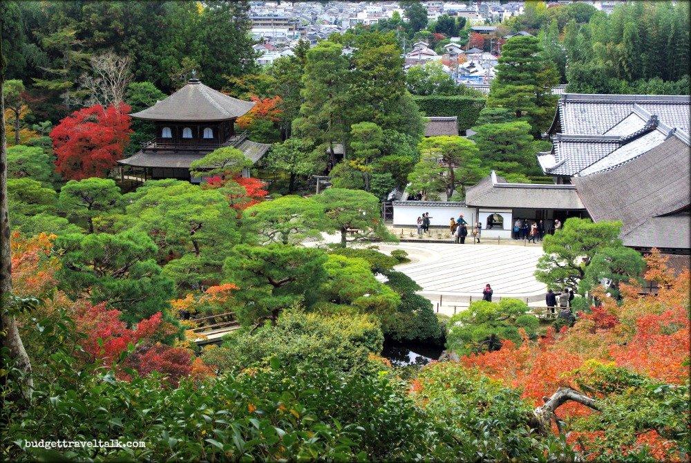 Kyoto Silver Pavilion Zen Garden Autumn Colours