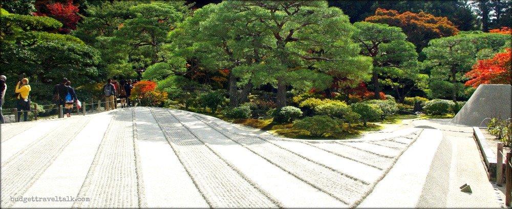 Kyoto Silver Pavilion Zen Sand