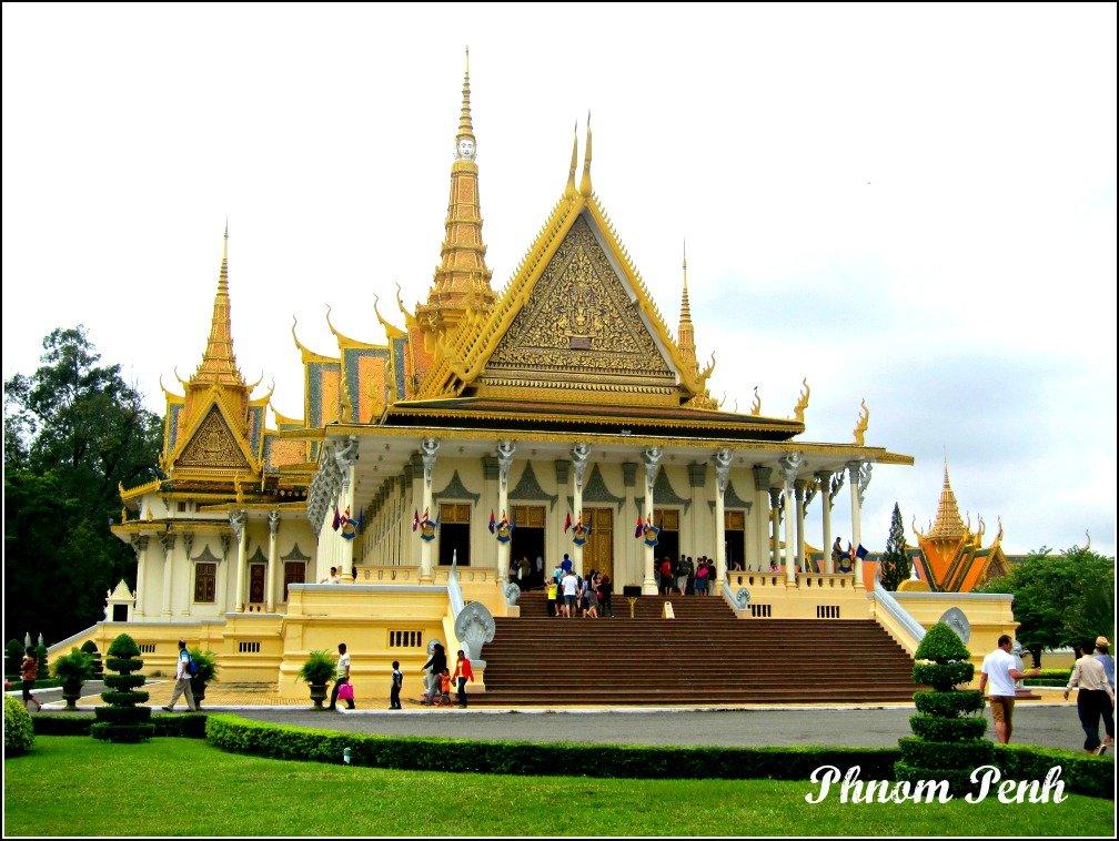 Cambodia Phnom Penh Palace