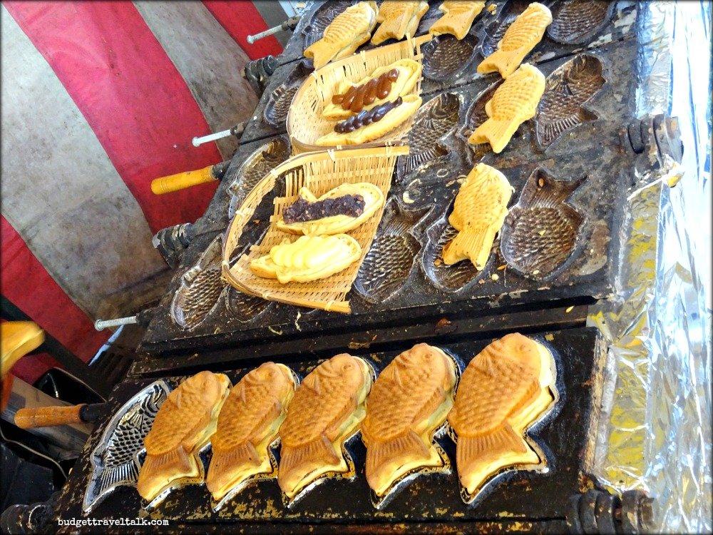 Fushimi Taiyaki Food Vendors