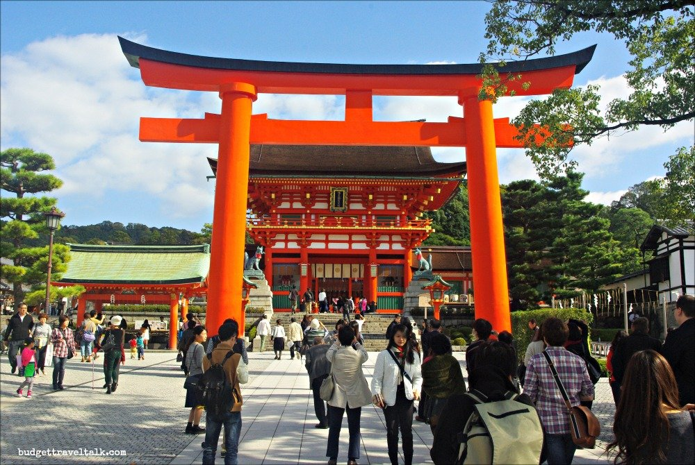 Fushimi Inari Torii and Shrine