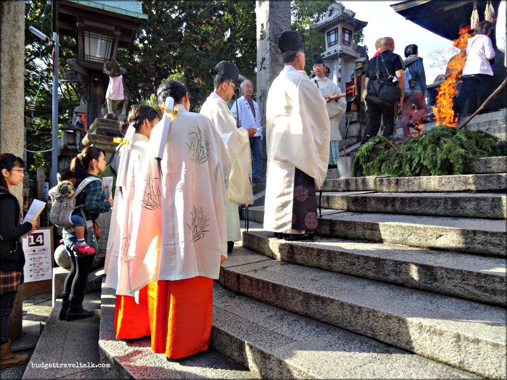 Fushimi Shinto Ceremony