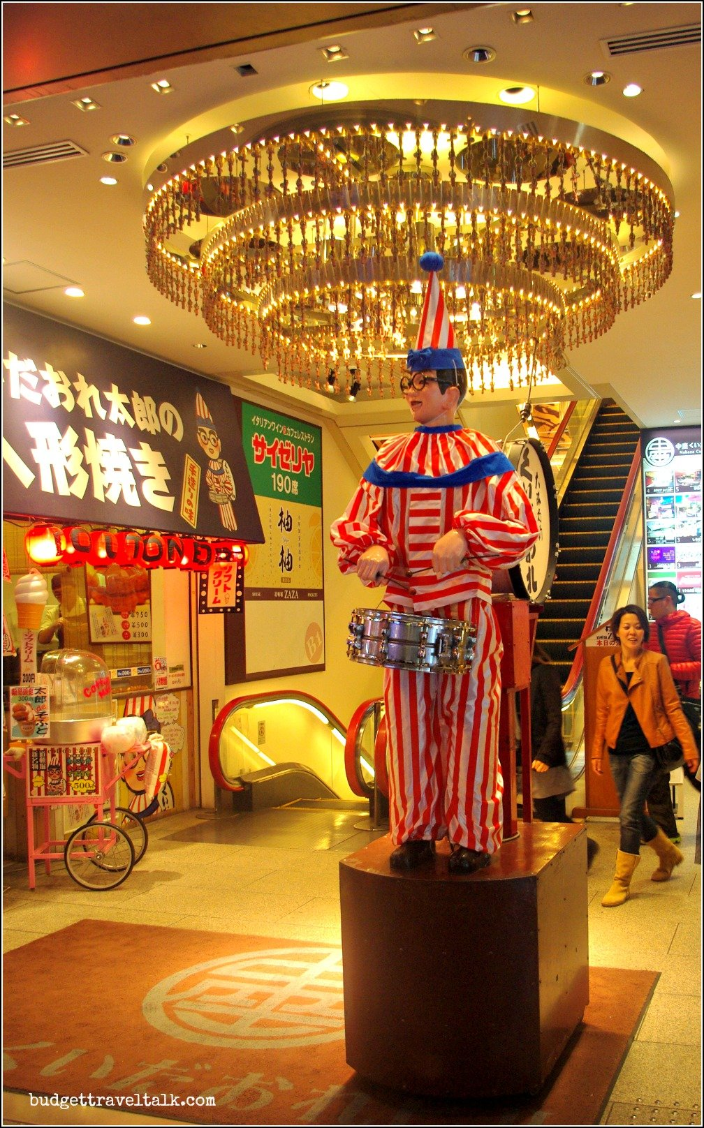 Kuidaore Taro the drumming clown Osaka