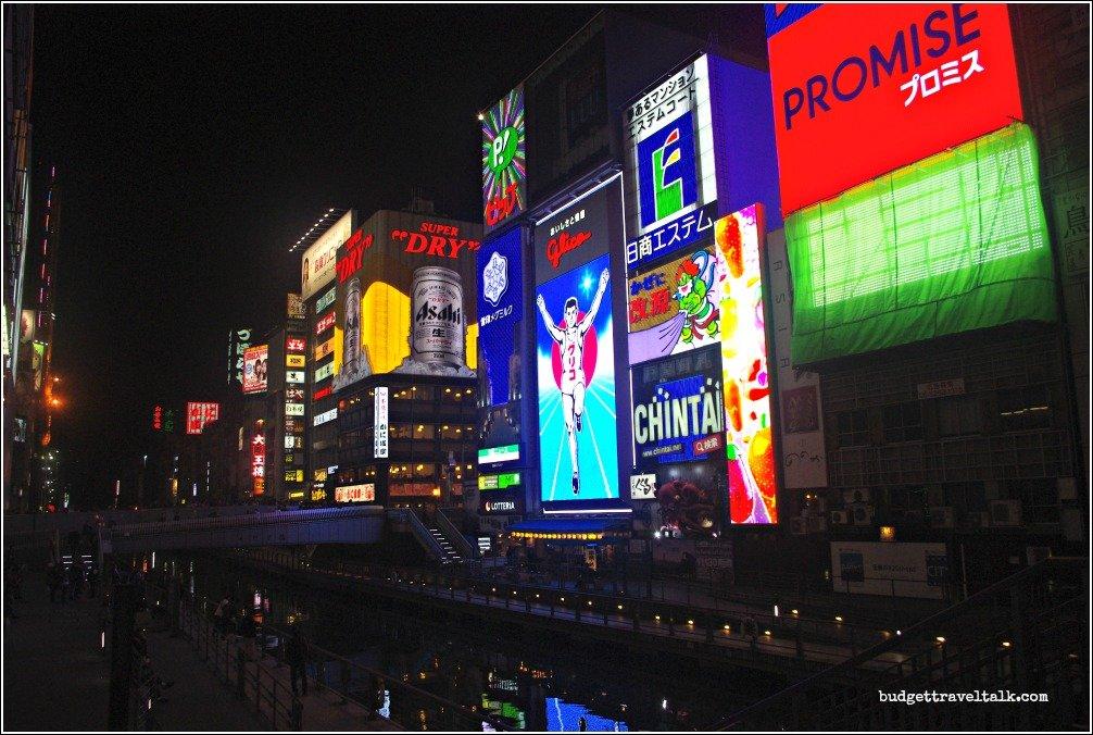 Goodbye Glico Man Dotonbori Canal Osaka