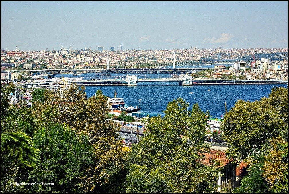 Galata Bridge from Topkapi Palace