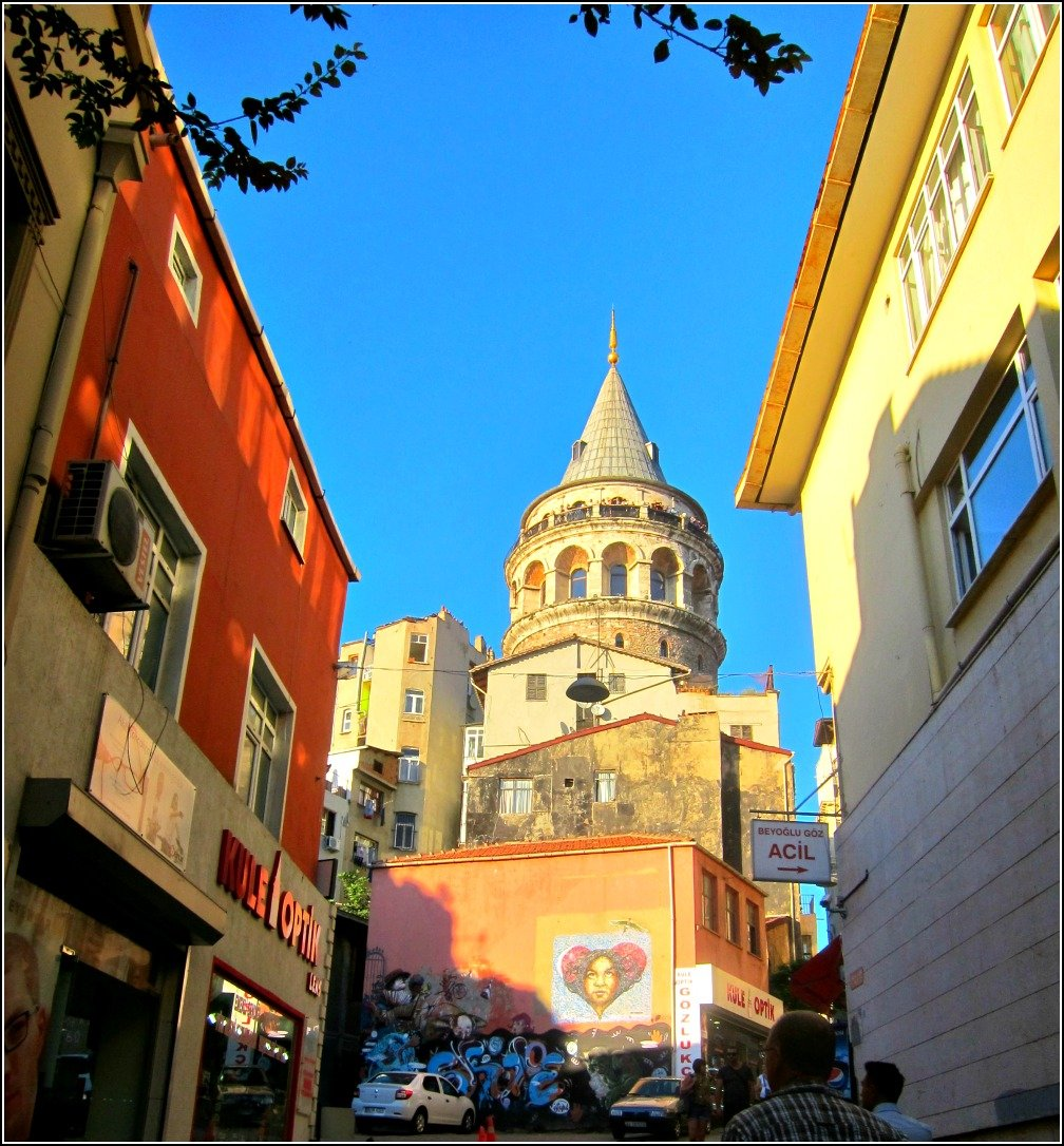 Galata Tower Gold