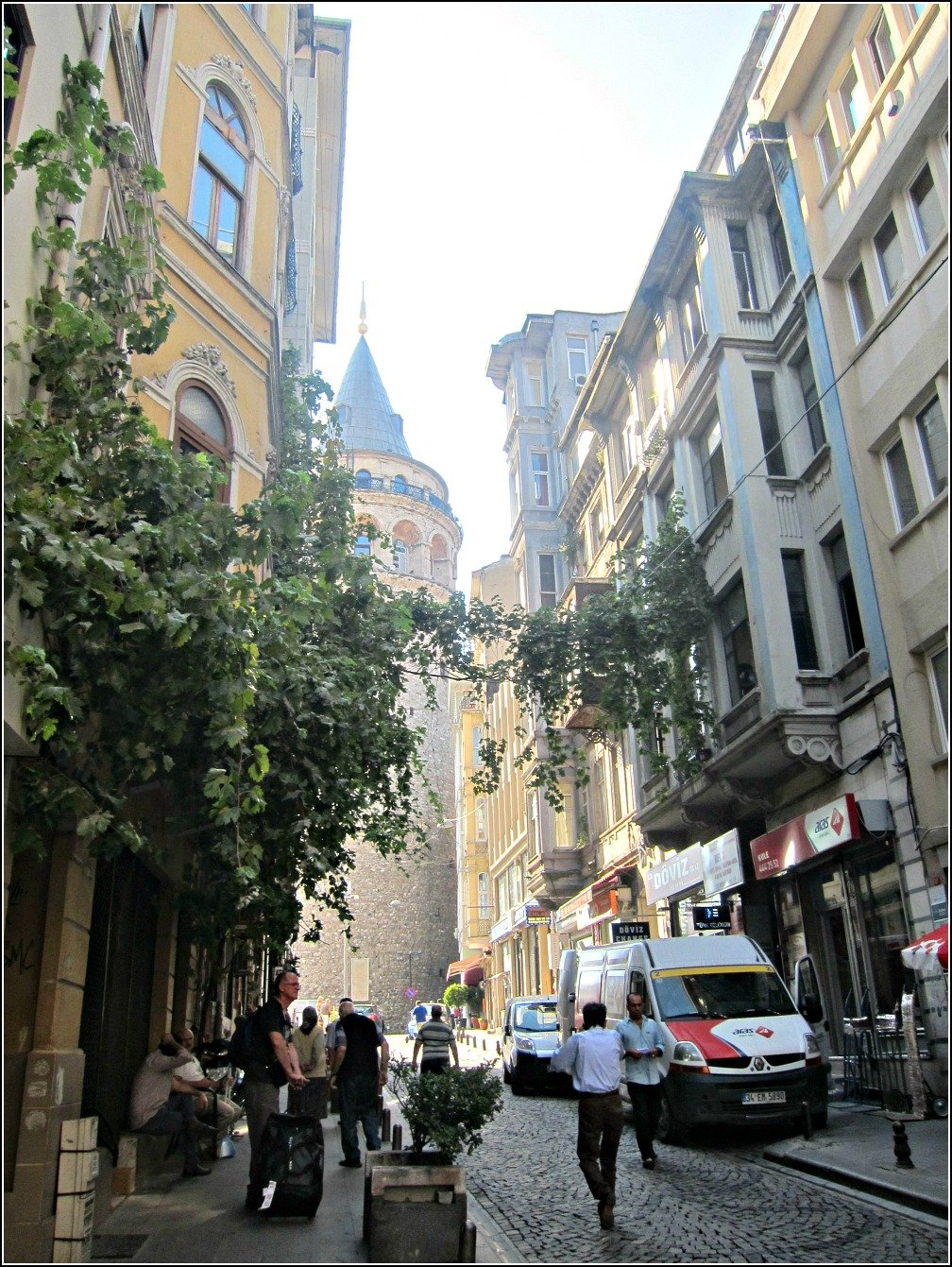 Galata Tower and Streets