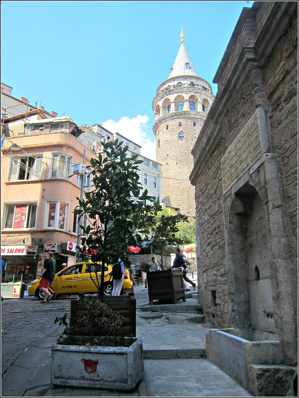 Galata Tower and Salonu
