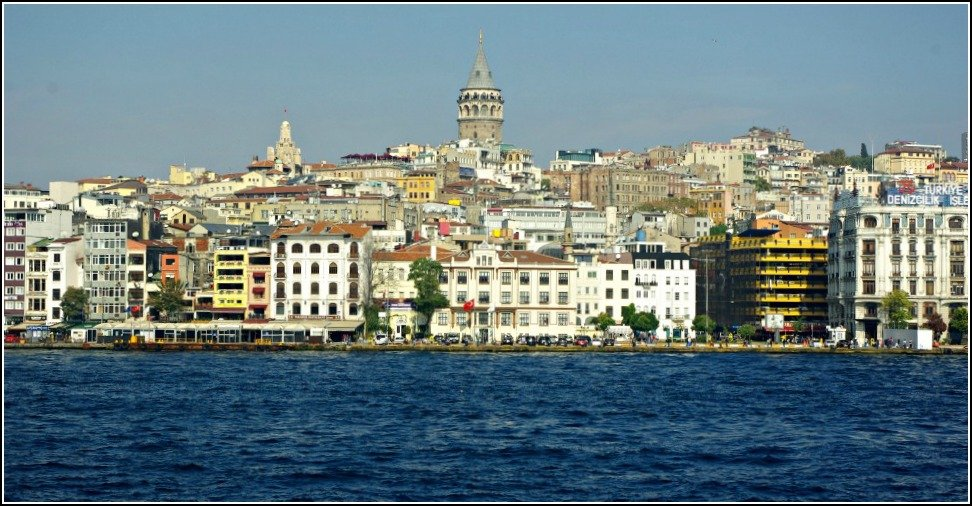 Galata from the Bosphorus Ferry