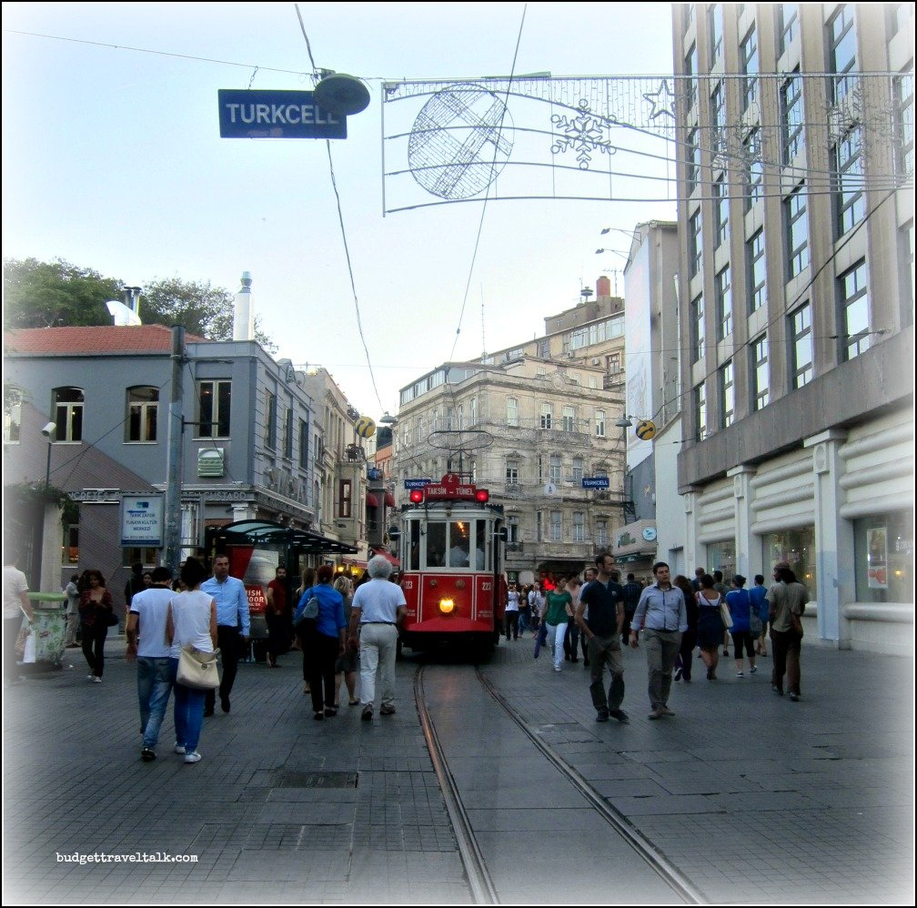 Isklital Caddesi Historic Tram
