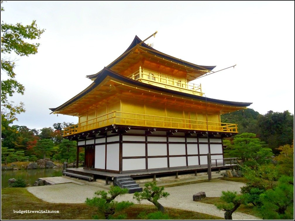 Kinkaku-Ji buddhist temple in Kyoto
