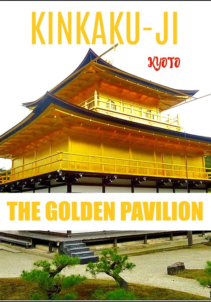 Kinkaku-ji Kyoto or the Golden Pavilion is one of the most popular temples in Kyoto.