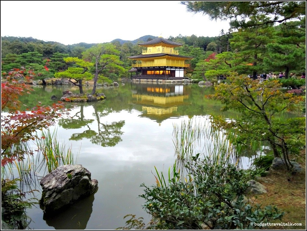 Kinkaku-ji Pond Reflection