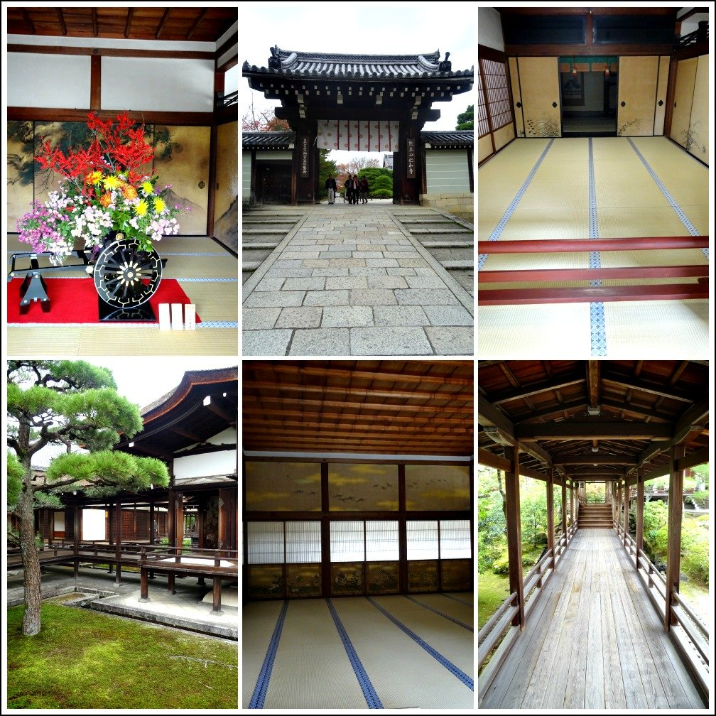Ninna-Ji Kyoto Palace Collage