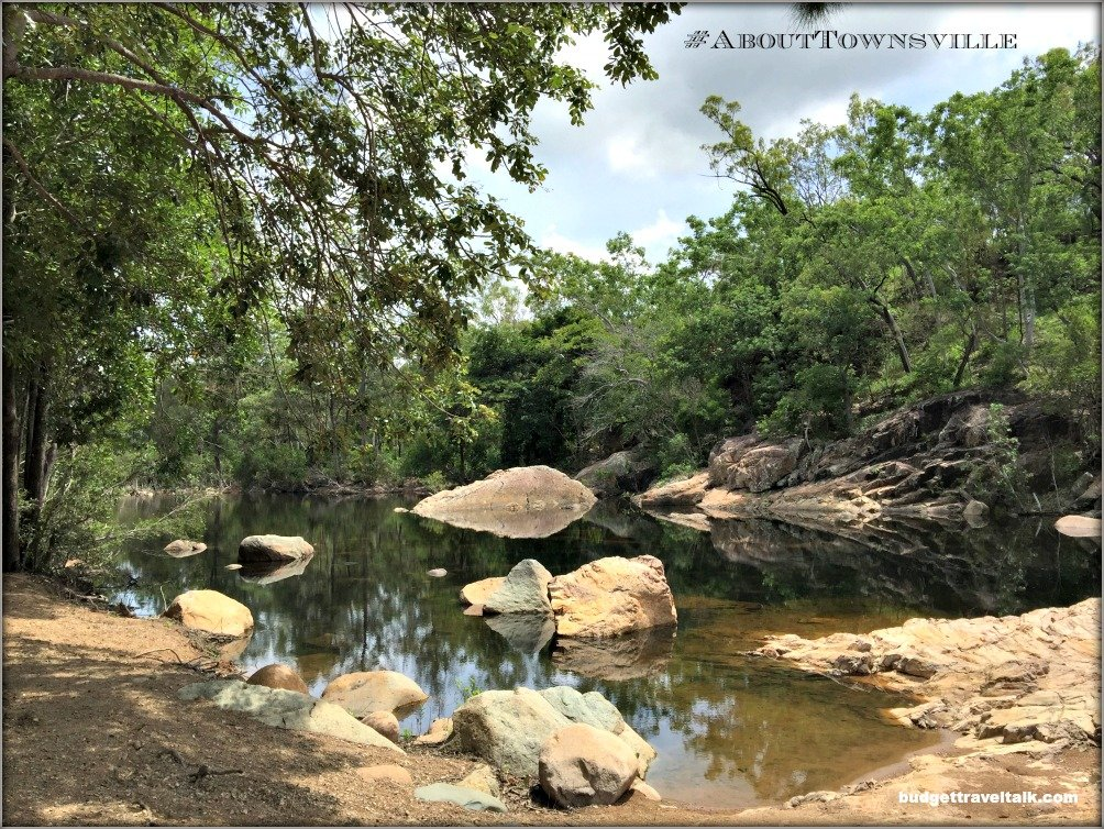Alligator Creek Rock Pool IPhone