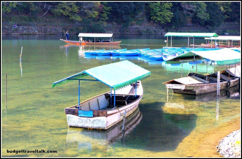 Arashiyama Boats Variety