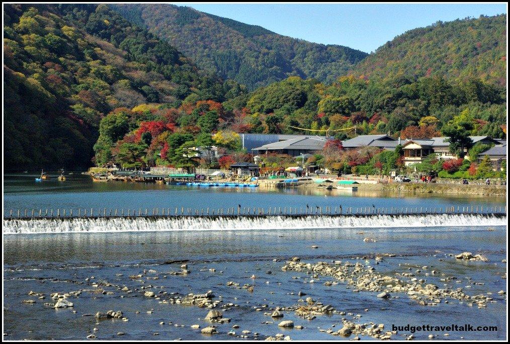 Arashiyama Weir