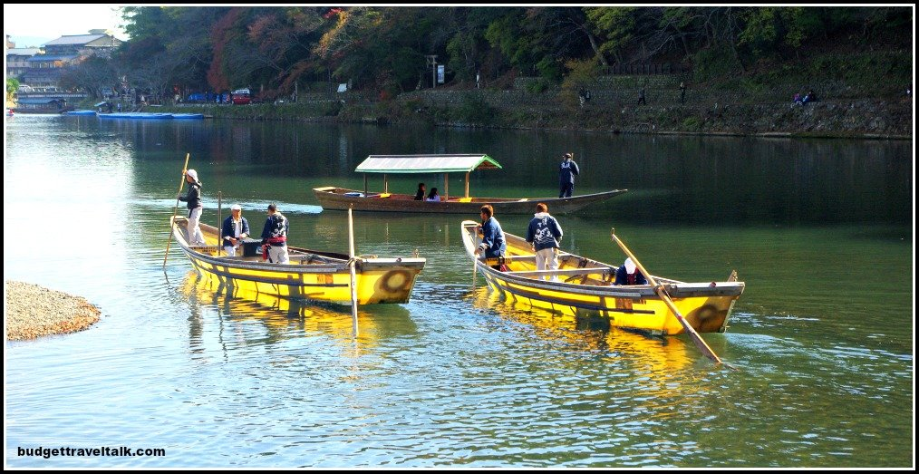 Arashiyama Yellow Boats