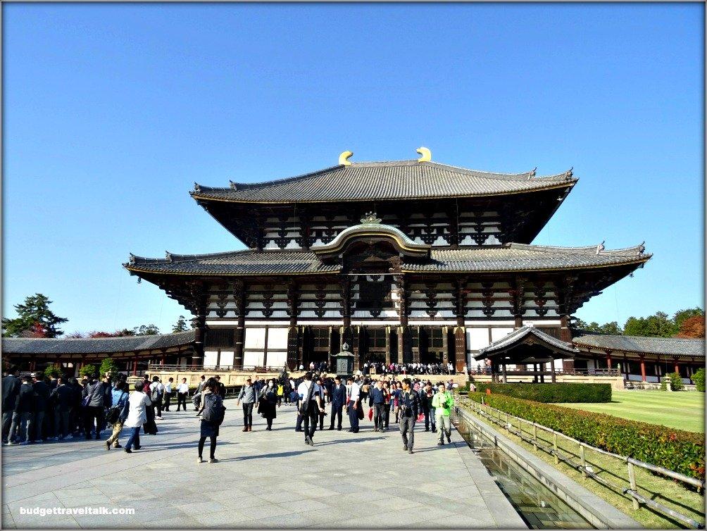 Nara Daibutsu-den hall