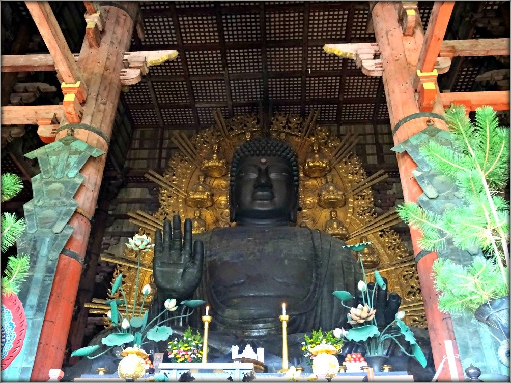 Nara Daibutsu or Great Buddha