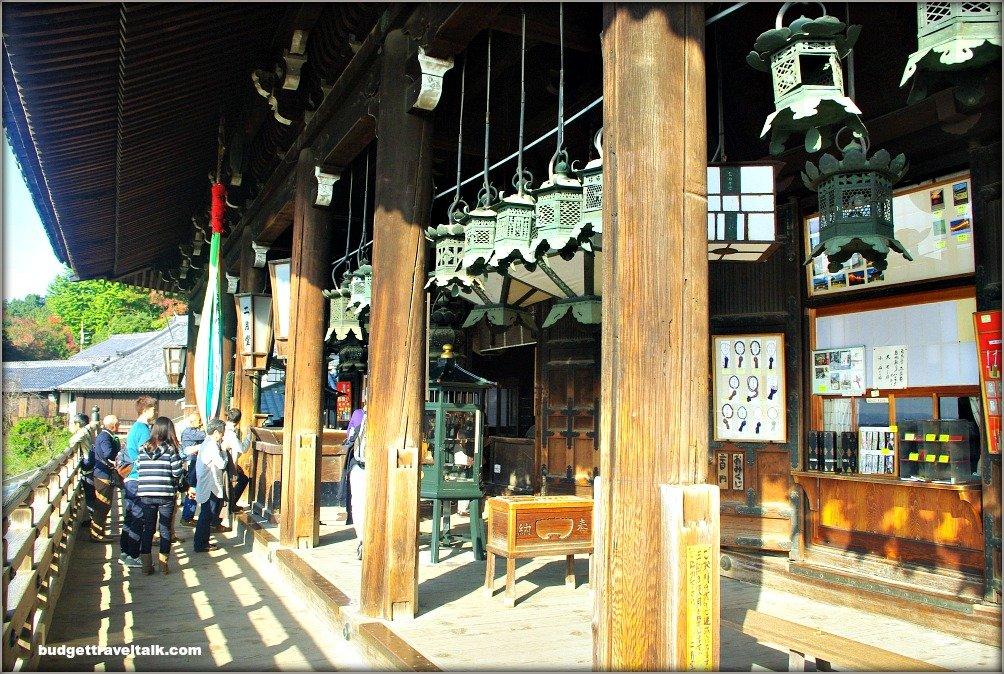 Nara Nigatsu-do lanterns