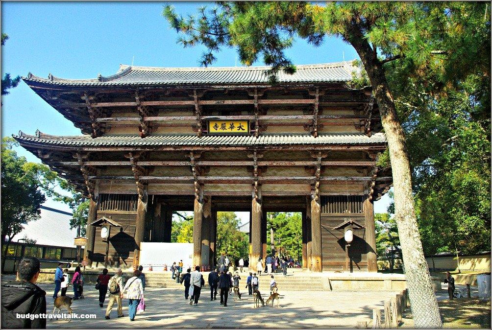 Nara Todai-ji Nandai-mon