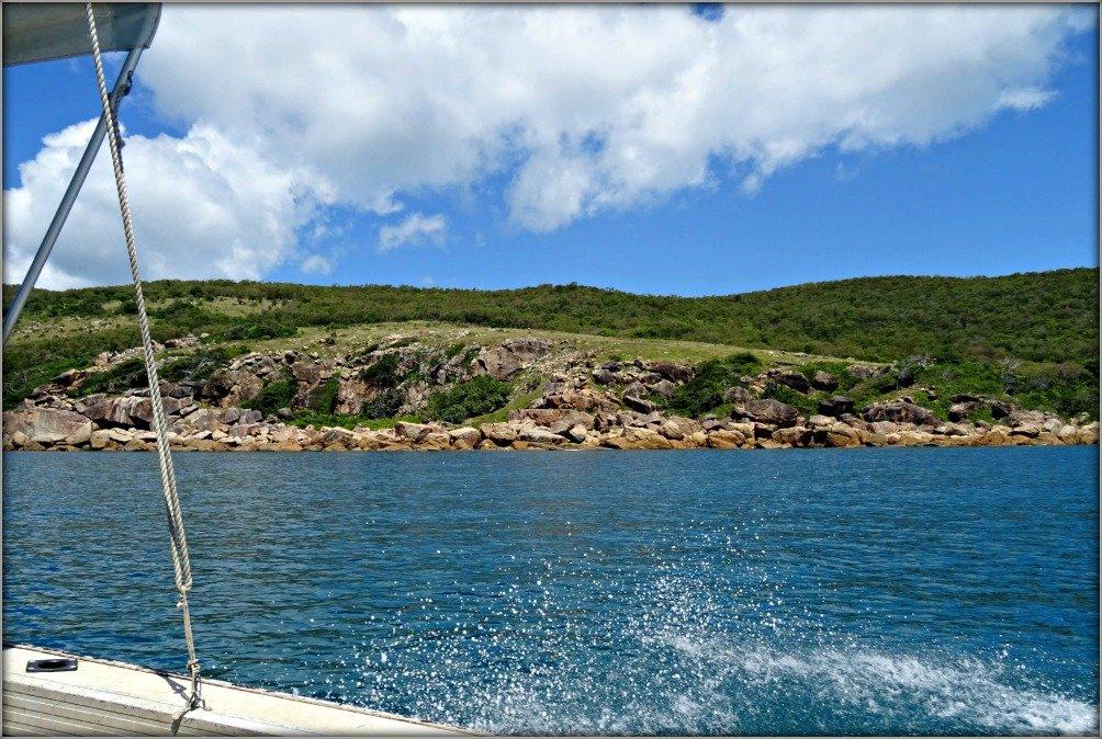 Orpheus Island Boat Spray