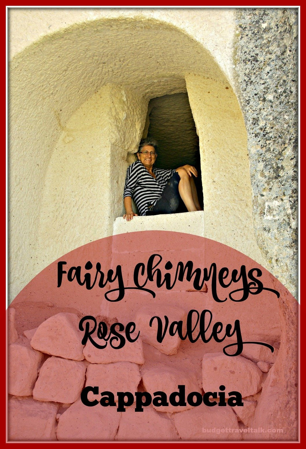 Learn how easy it is to walk through the Rose Valley near Goreme in Cappadocia Turkey.
