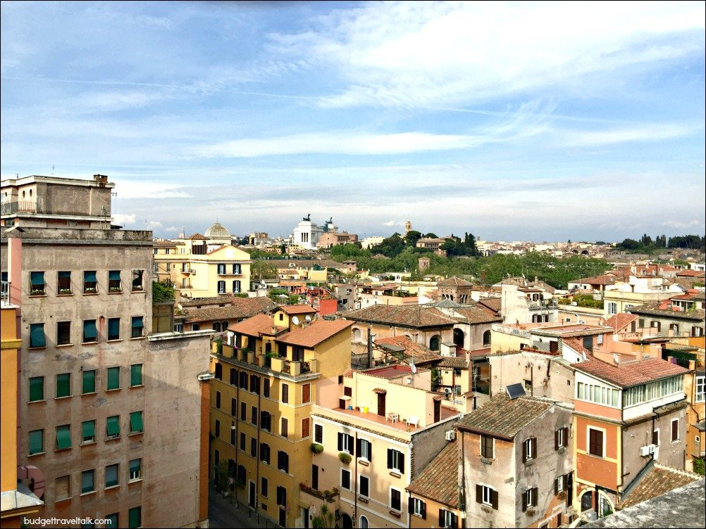 Rooftop Views toward Capitolini hill