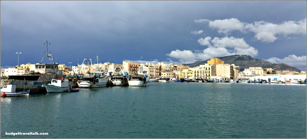 Trapani from Fishing Port