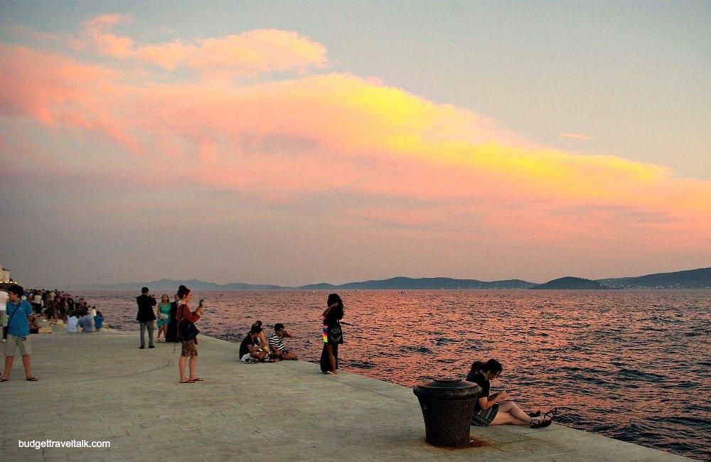 Zadar Reverse Sunset