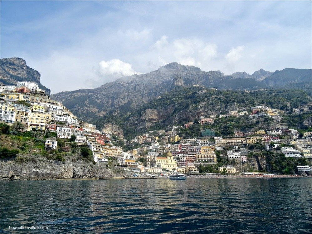 Amalfi Coast from the Ocean