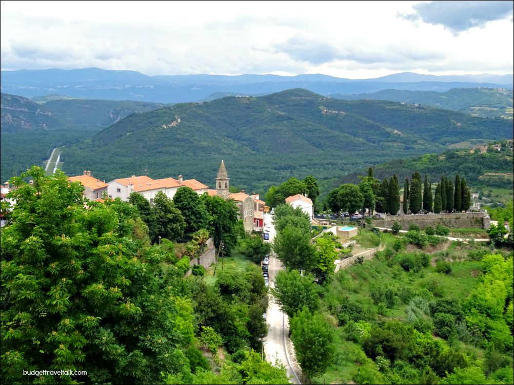 Istrian Hill top Town in Croatia