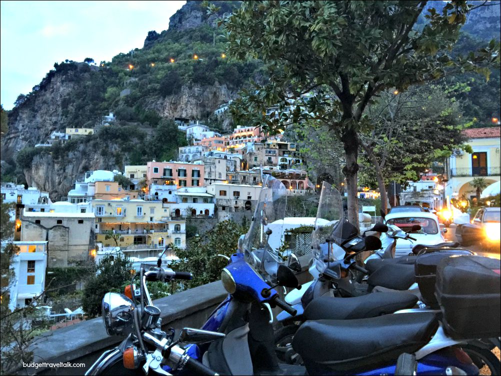 Positano Fornillo Evening