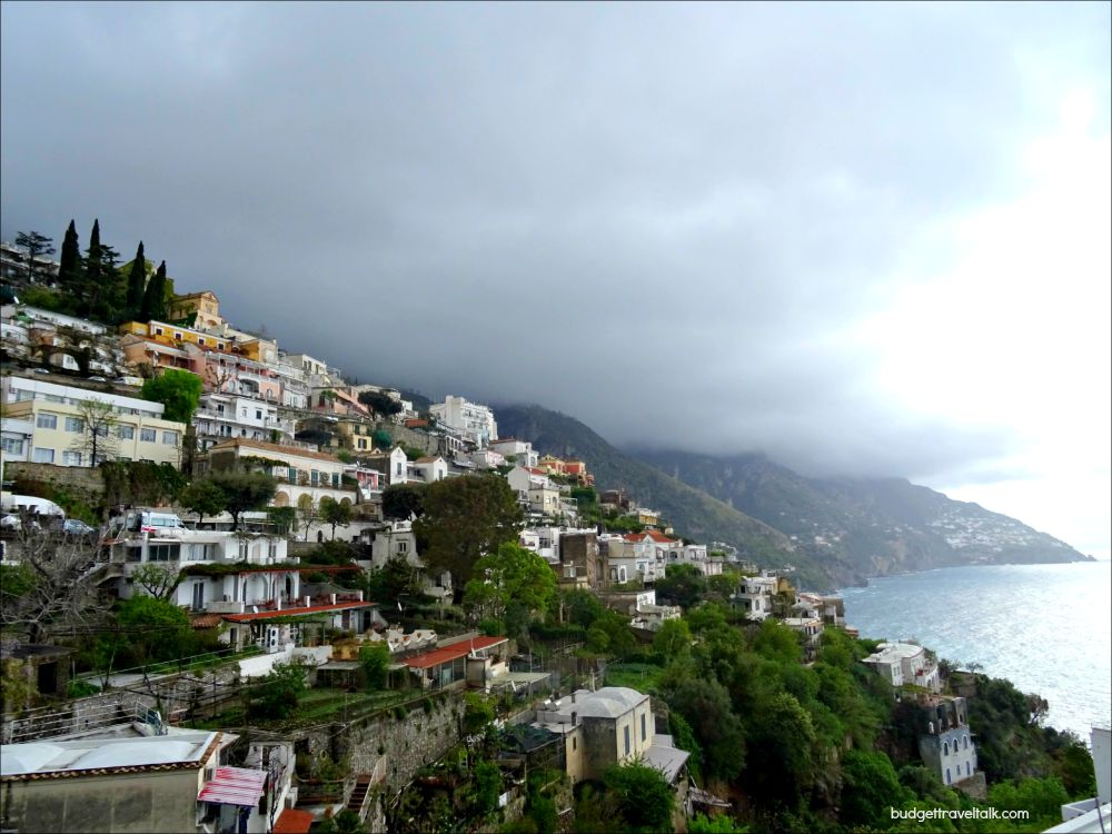 Positano Gathering Clouds