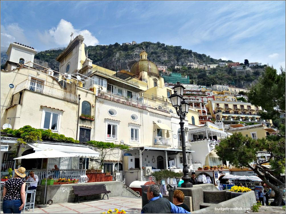 Positano Port area
